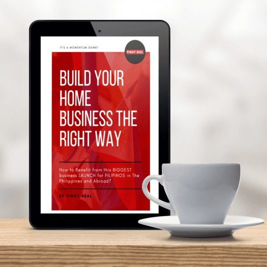 Build Your Home Business The Right Way ipad mockup